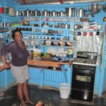 Dominican kitchen and gracious host
