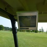 Golf carts with GPS