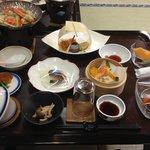 夕食 dinner(traditional japanese style)