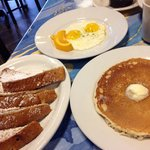 French toast and pancakes