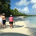 Guided beach tour