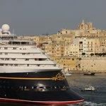 disney ship leaving port