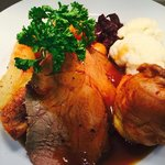 Sunday Lunch served at the Malt