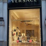 Versace store, Milan