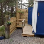 temporary toilets and showers