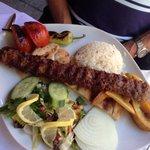 Kebab Adana. Erg lekker!