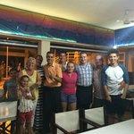 Family photo with Tony & Ludvic