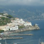 View of Amalfi from room