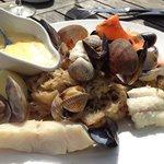 La choucroute de la mer, a 20€ a la carte ... Excellente