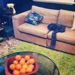 Communal lounge. Very comfortable.