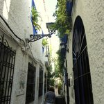 très belle rue étroite
