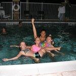 kids enjoying pool