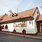 Aragvi Georgian Restaurant from the street