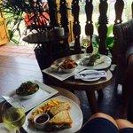 informal lunch