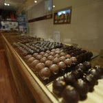 Laden Chocolate Counter
