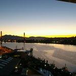 Balcony view @ night