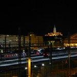 Bahnhof von Tours nachts