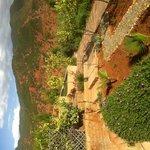jardin vers la vallée de l Ourika