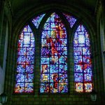 The Great West Window in St. George's Cathedral