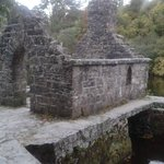 Monks fishing house on grounds of Asford Castle walks,