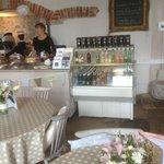 Torre Abbey Tea Room main serving area