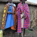 Masai husband and wife