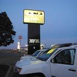 Classico motel in stile americano: ottimo come appoggio e via!