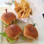 Mini Crab Cake Sliders