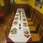 Salòn comedor de La Cocina del Cardenal .