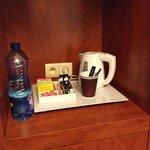 possibilità di un caffè o the in camera