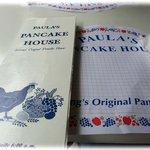 Paula's Pancake House Menu
