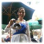 Paula's Pancake House Server, Cynthia