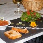 Foie gras au caramel d'épices