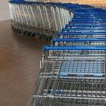 shopping cart exhibit