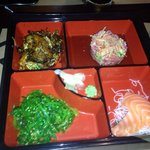 Six great Bento Boxes to choose from for lunch! Delicious and a really good value!!!