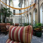 Courtyard at St. James Hotel