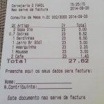 La factura
