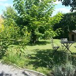 Jardin commun aux gites