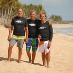 Real Surfers with more than 30 yrs. of experience each!
