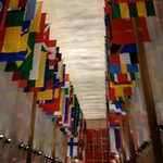 Hall of Flags within JFK Center