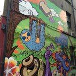 Murals that liven up the area even more