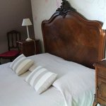 Lovely, comfortable antique bed
