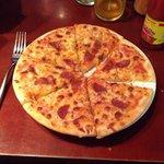 Pizza romana surgelee