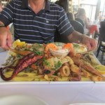 Seafood Platter for Two at Chania Harbour