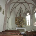 Inside one of the churches