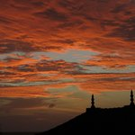 Sunset at Saman Villas