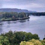 River bluffs