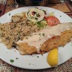 heavenly stuffed crab grouper