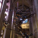 Xu Bing Phoenix flying over the cathedral nave !!
