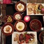 Mezze Libanais succulent
